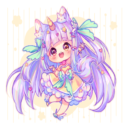 Chibi Unicorn Girl Google Search Cute Anime Chibi Chibi Girl Drawings Chibi Unicorn