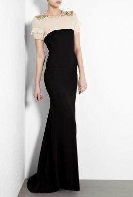 Dura Embellished Shoulder Maxi Dress by By Malene Birger