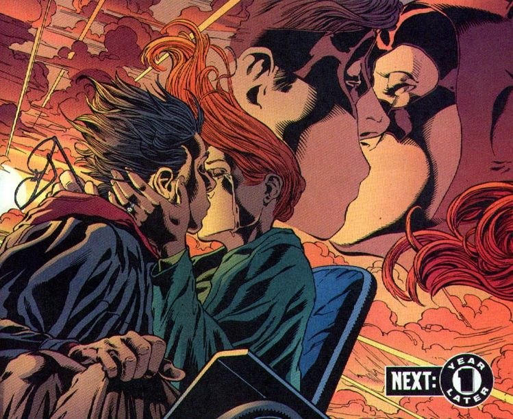 Oracle and Nightwing Kiss | Nightwing and Starfire | Pinterest