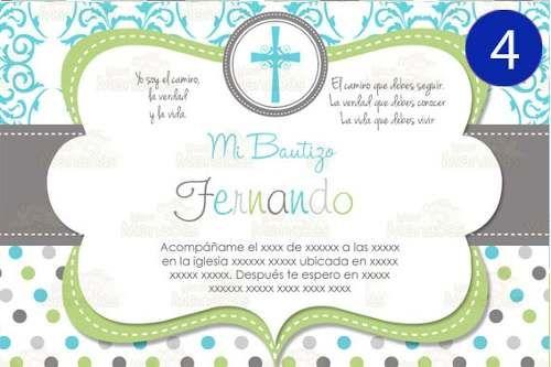 invitaciones bautizo presentacion primera comunion baby vva free