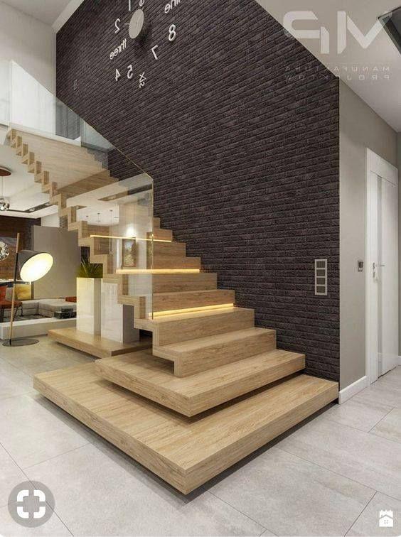 14 dise os de escaleras para interiores son muy for Diseno de paredes interiores casas