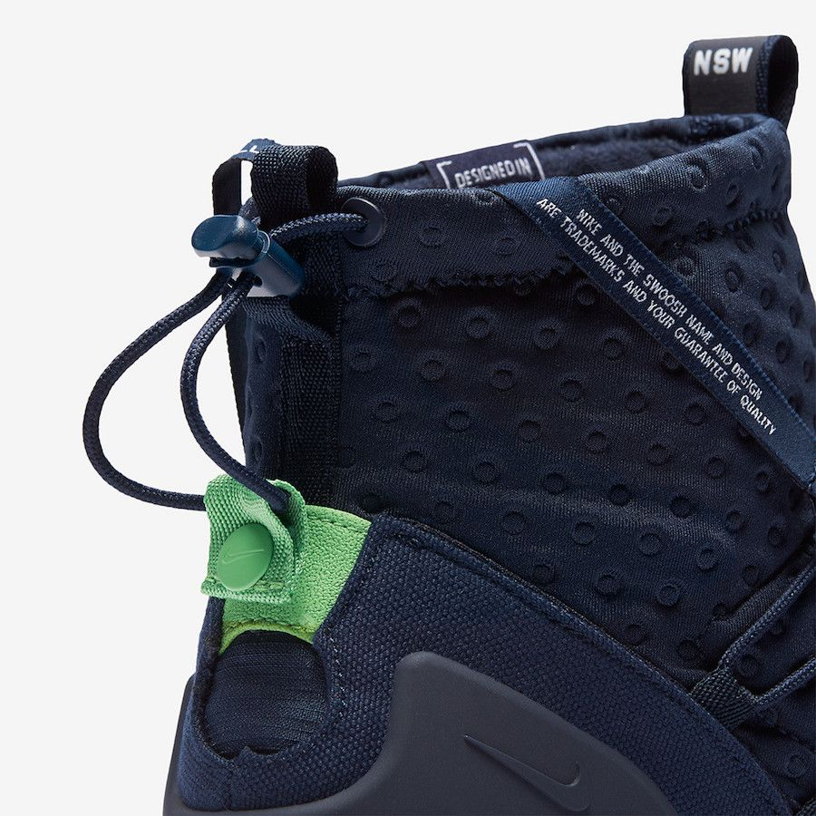 the best attitude 8586f 8cbd5 Nike Air Footscape Mid Utility Obsiidan 924455-400   Shoe   DETAILS ...