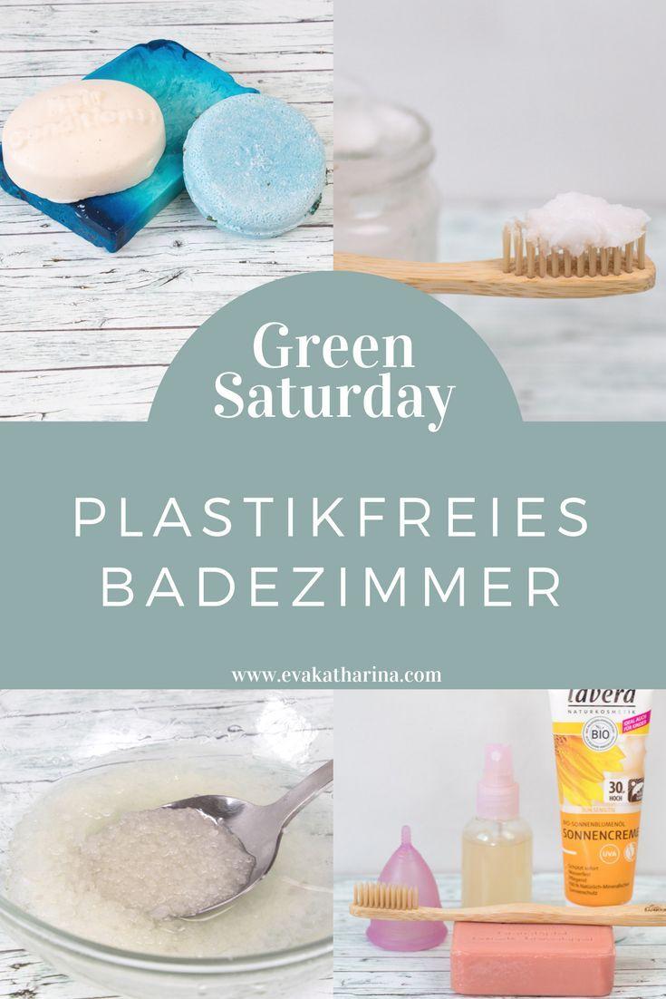 Plastikfreies Badezimmer - #badezimmer #nature #Plastikfreies