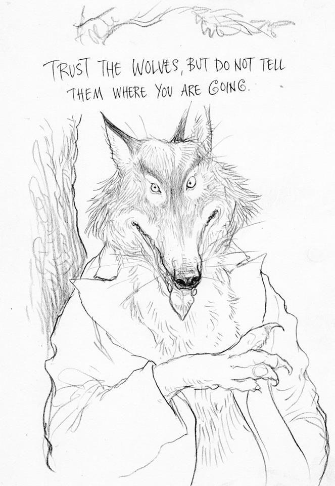 Chris Riddells Illustrations For Neil Gaimans The