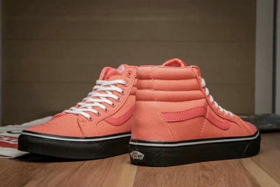 Vans Classic SK8-Hi Orange Skate Shoe Vans For Sale  Vans  7bc292c53