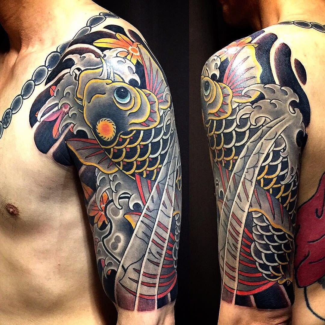 Tattoo Ideas Koi: Done Koi 鯉 #tattoo #japanesetattoo