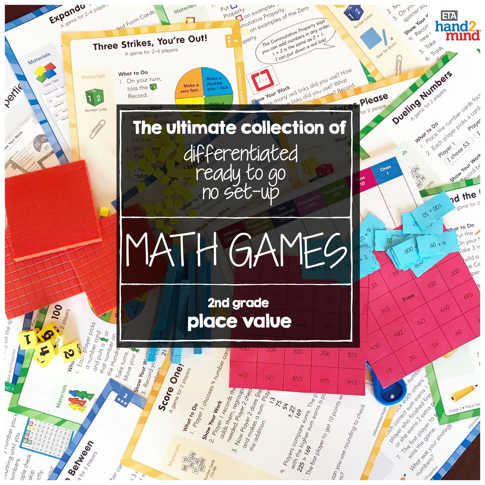Differentiated Math Center Grade 2