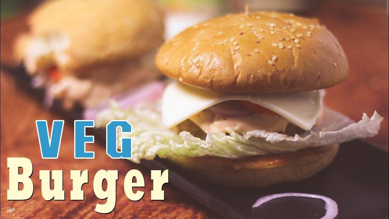 व ज बर गर क स बन ए Veggie Burger Recipe In Hindi Burger Recipe M Vegetarian Sandwich Recipes Food Recipes Veg Burgers Recipe
