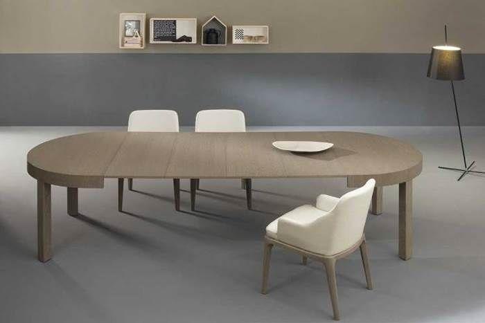 Tavolo rotondo allungabile tavoli allungabili per la sala