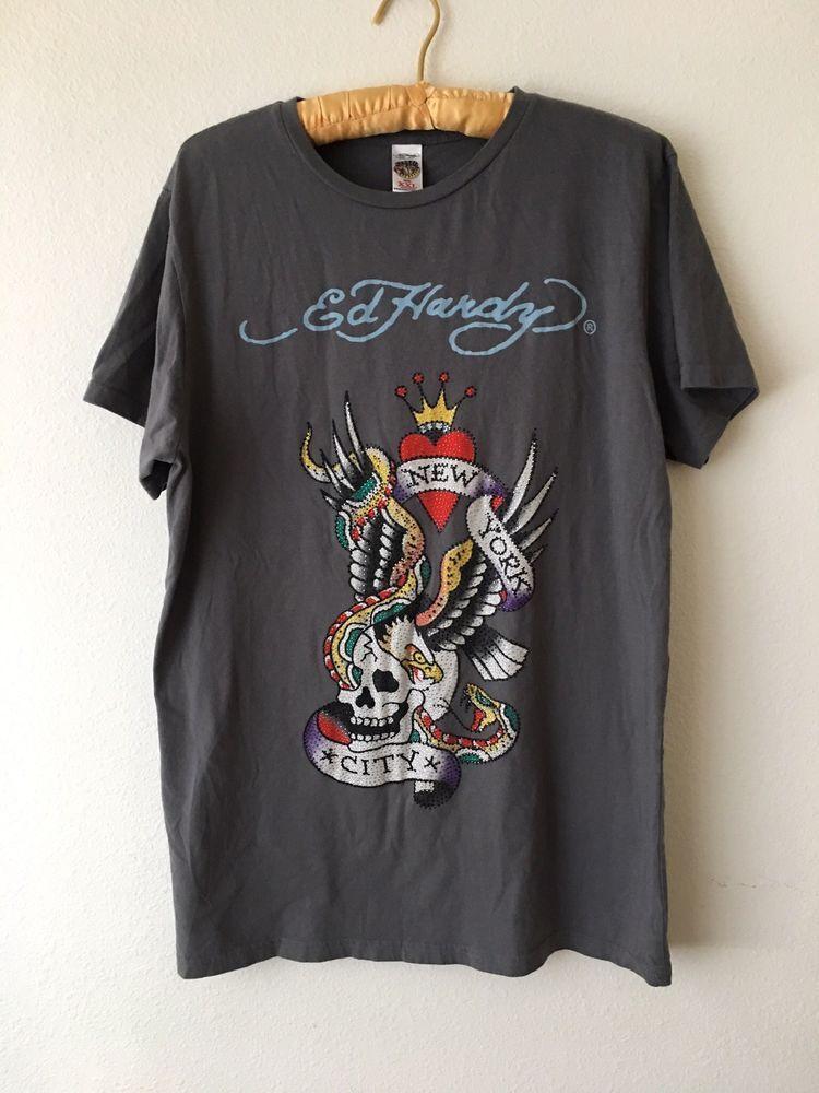 Ed Hardy KIDS Long Sleeve Shirt Medium Brand NEW