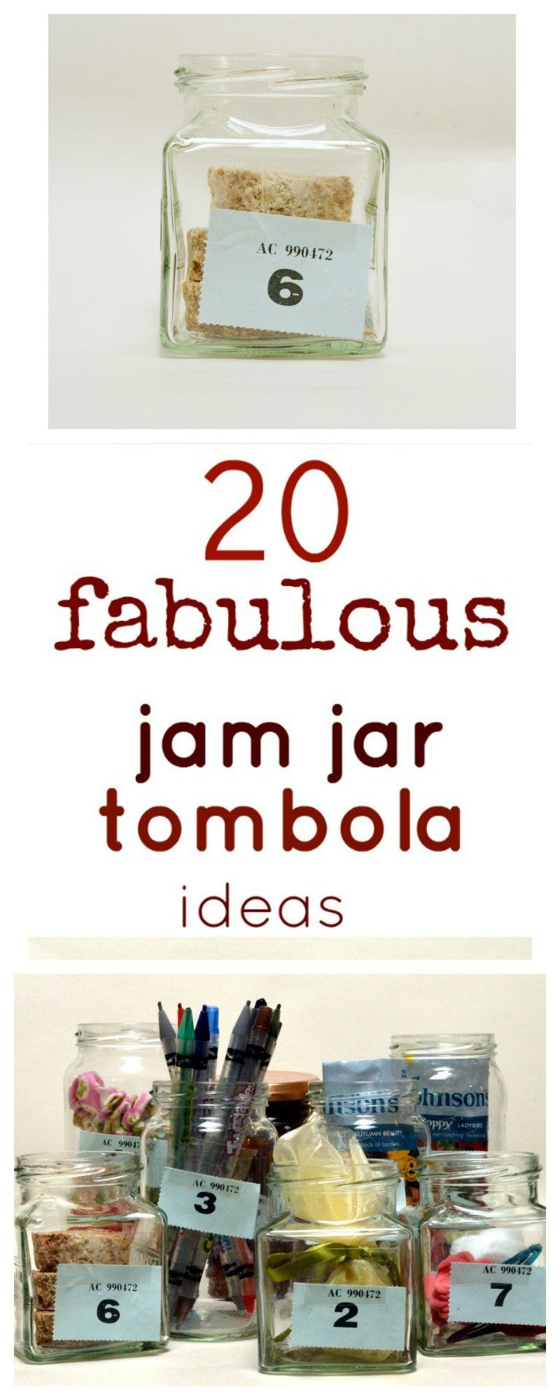 Christmas Fundraising Ideas For Charity.20 Jam Jar Tombola Ideas Christmas Fayre Christmas