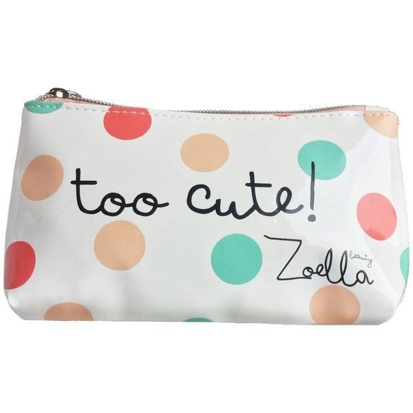 Zoella Beauty Limited Edition Multi Coloured Dotty Too Cute Make Up Found On Polyvore Featuring Products Accessories Bags Cases