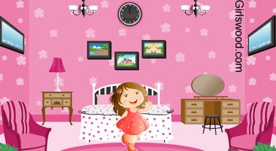 pink room decoration barbie loves the pink style so she bought many items for her room - Barbie Room Decoration Games New 2014