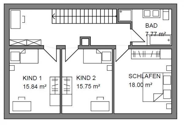 Einfamilienhaus grundriss ohne keller  attachment.php (JPEG-Grafik, 600 × 408 Pixel) | haus | Pinterest ...