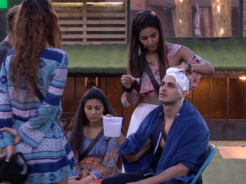Bigg Boss 11 Day 43 Live Updates: Priyank Shaves his head and Akash