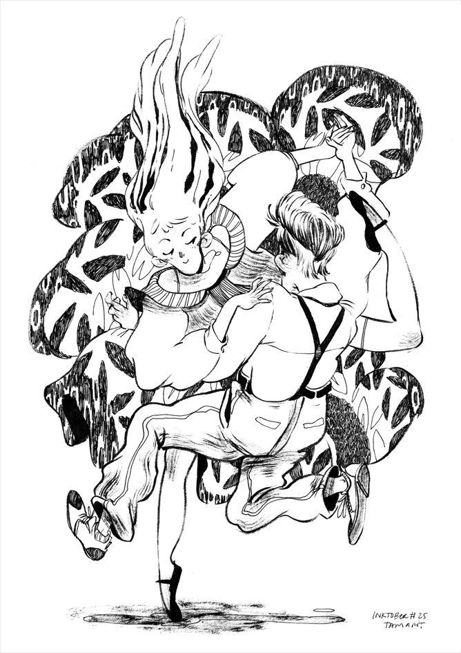 TAMARIT - Inktobers #22 #23 #24 #25