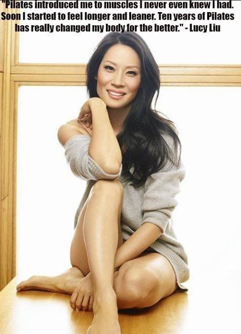 PILATES testimonial Lucy Liu