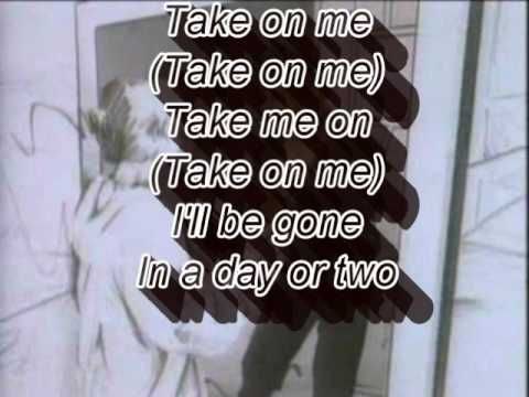 A Ha Take On Me Lyrics Musique Parole