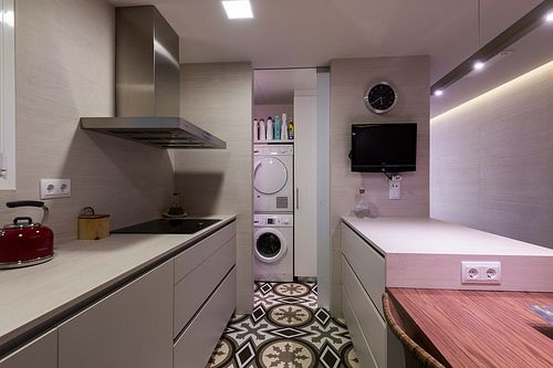 Cocina y lavandería | Proyecto de reforma París | Standal ...