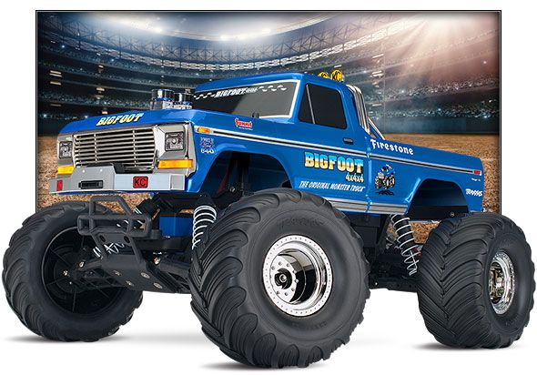 Bigfoot Classic Traxxas Monster Trucks Rc Monster Truck Trucks Bigfoot monster truck wallpaper
