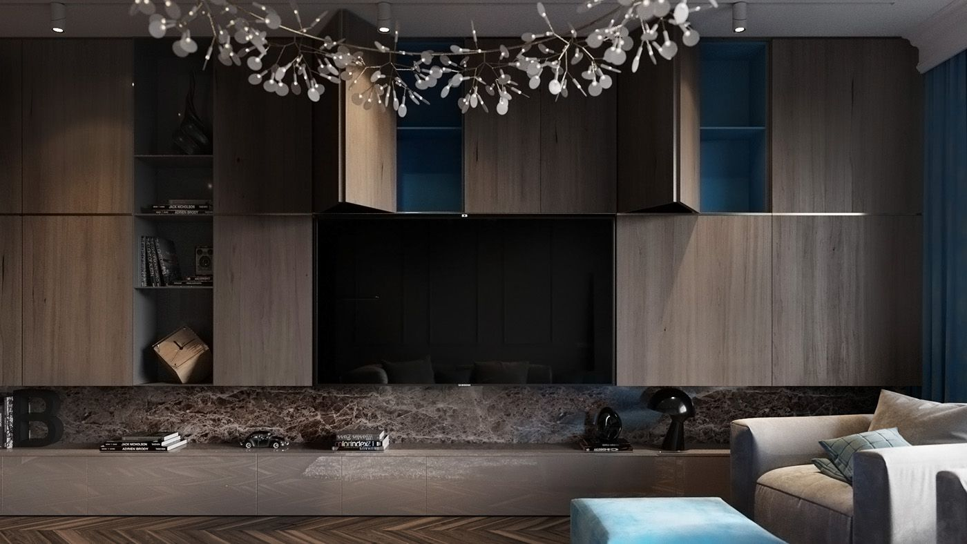 Superb Homes With Inspiring Wall Treatments And Designer Lighting