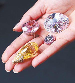 100 Million Dollar Worth Of Diamonds