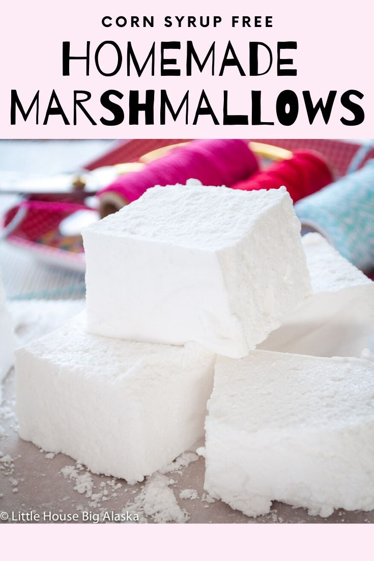Ditch the Corn Syrup with this Homemade Marshmallow Recipe