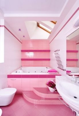 Ideas for decorating bathrooms   pretty pink bathroomGoogle Image Result for http www interior design it yourself com  . Pretty Bathrooms Photos. Home Design Ideas