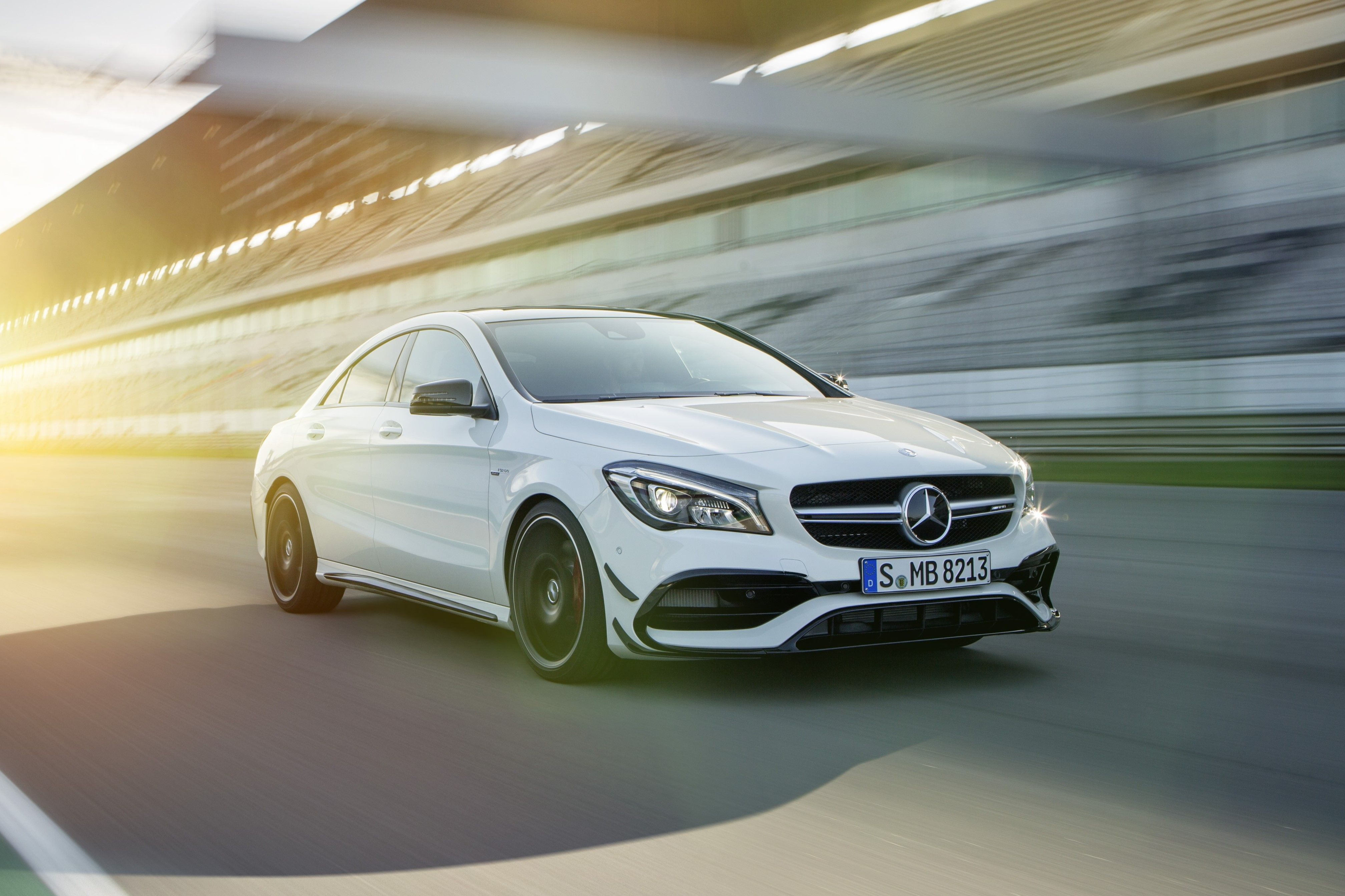 New Mercedes Amg Cla 45 4matic Coupe And Shooting Brake With