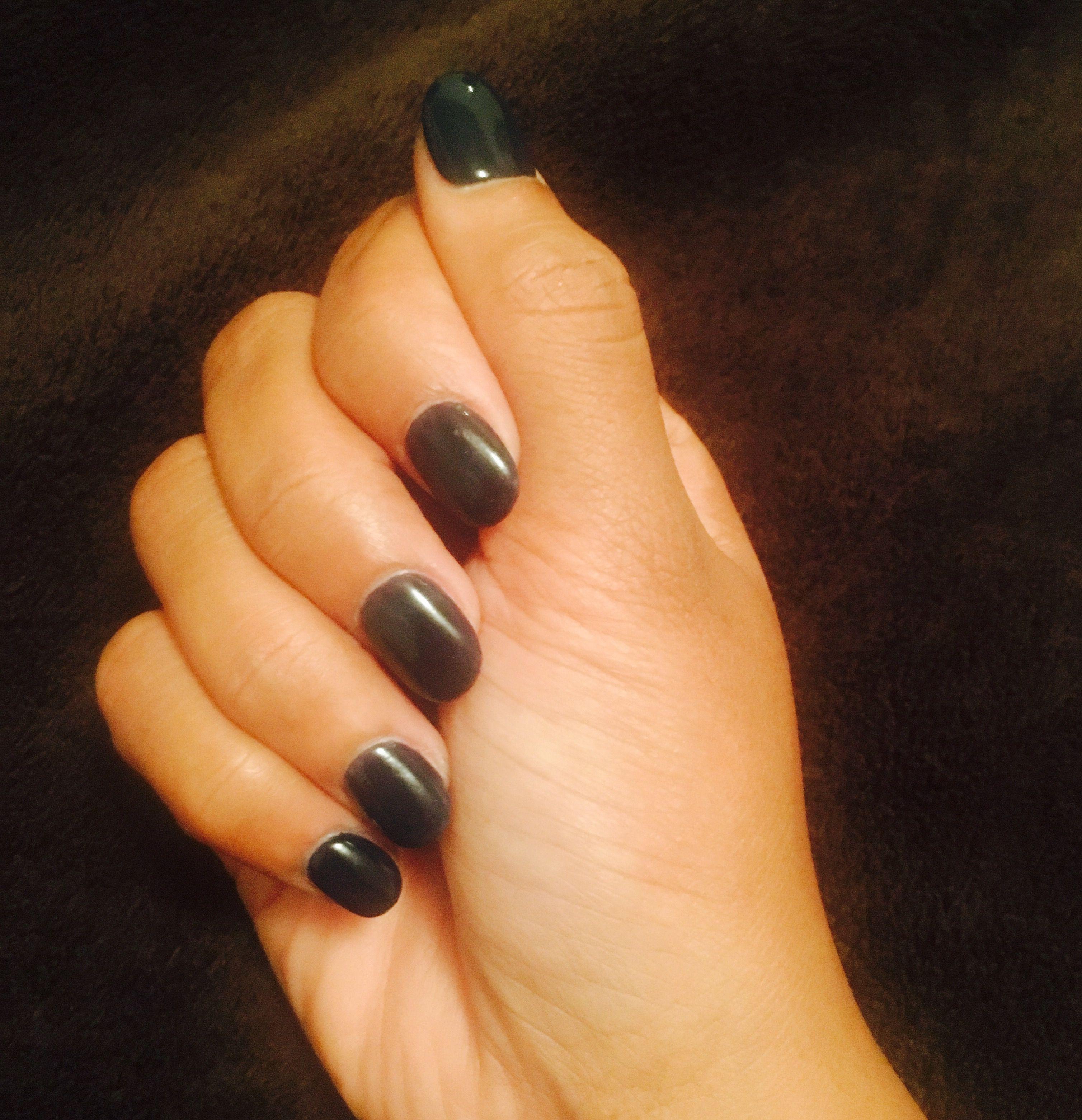 Navy blue sns nails sns nails my nails nails