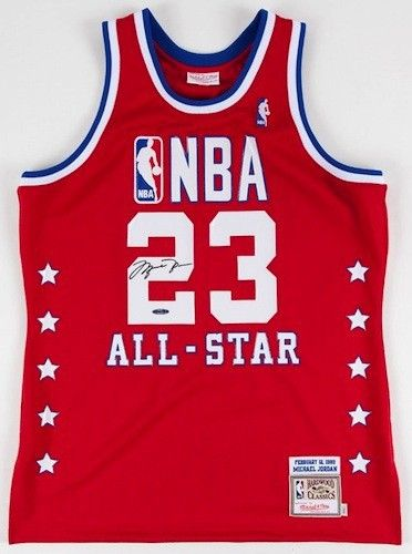 27ff7ba6f9c MICHAEL JORDAN Signed 1989 All Star M&N Authentic Jersey UDA - Game Day  Legends
