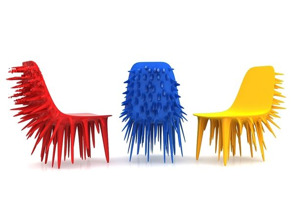 SpicyTec: Icicle Chair by Ali Alavi