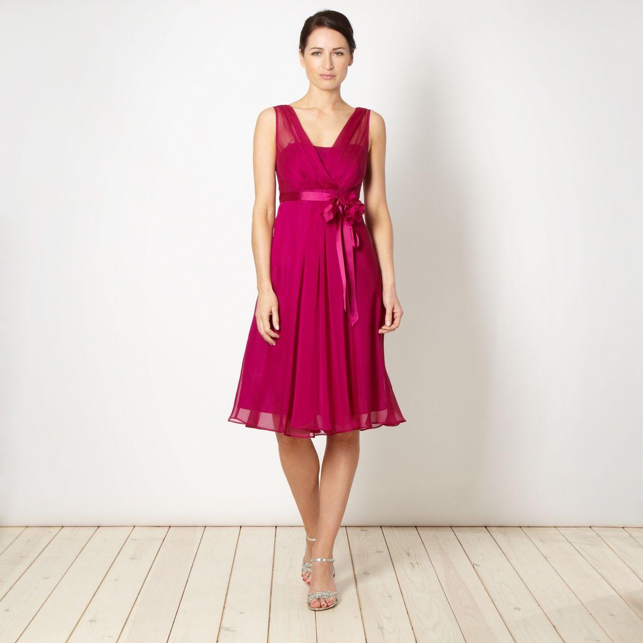 Debut dark pink sheer corsage babydoll at debenhams find this pin and more on bridesmaid dresses ombrellifo Choice Image