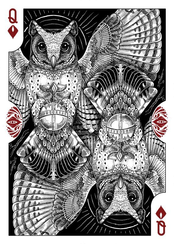 Image Result For Queen Playing Card Design