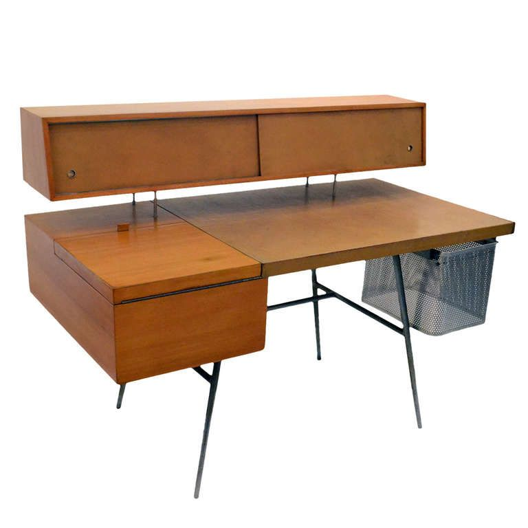 George Nelson Office Desk For Herman Miller 1948 From A Unique
