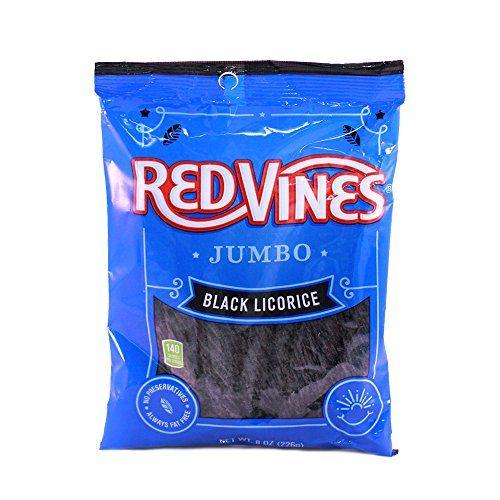 Red Vines Black Licorice Twists (Jumbo Twists, 8-Ounce Ba... https://www.amazon.com/dp/B000UHE6XK/ref=cm_sw_r_pi_dp_x_g3X6xb166YJ6A