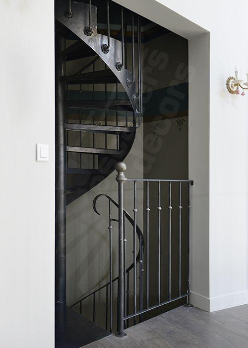 DH122 Escaliers Décors® - SPIR\u0027DÉCO® Bistrot sans contremarche