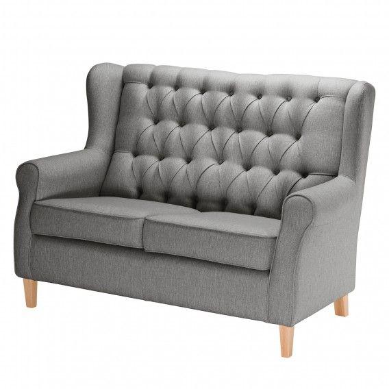 Sofa Luro 2 Sitzer Strukturstoff Kuche Home24 Sofa Wohnzimmer Sofa Sofa