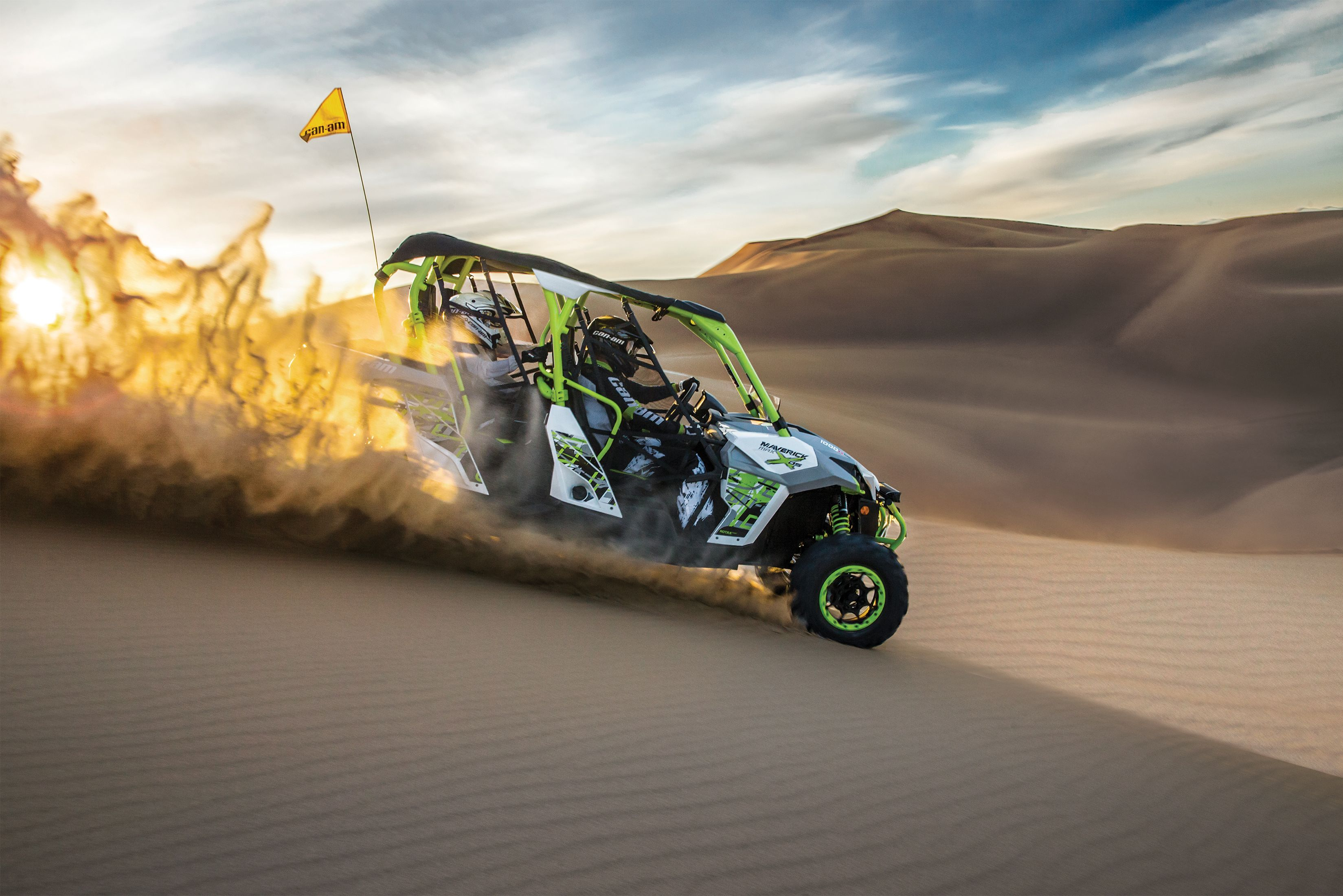 The all new Maverick X ds enables you to lead the pack with the most