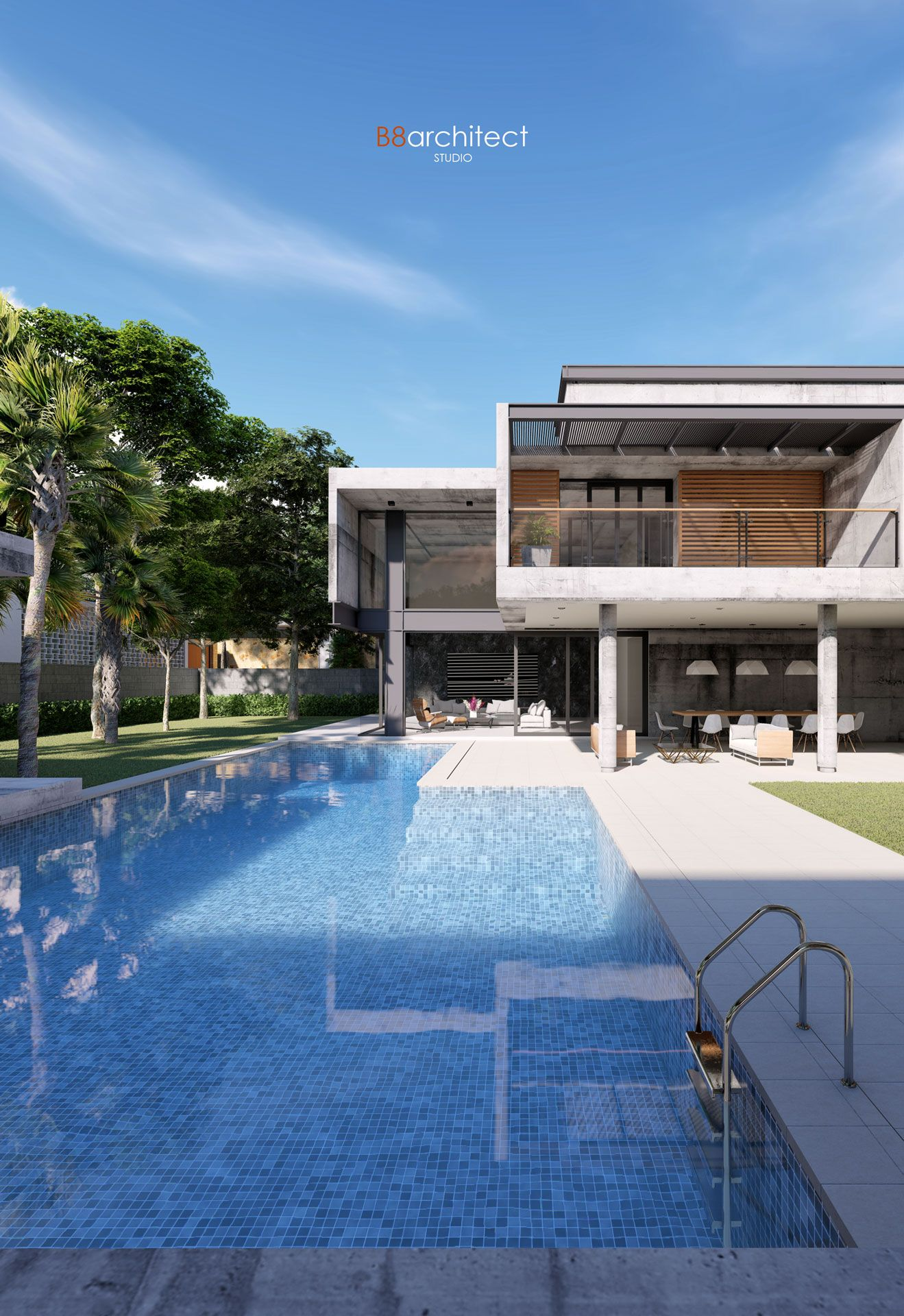 Residential #House, #rendered in #Lumion 8 5 by B8architect