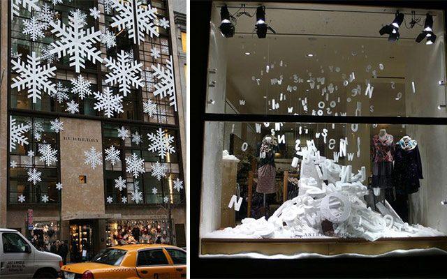 Ideas para decorar escaparates de invierno escaparate - Ideas escaparates originales ...
