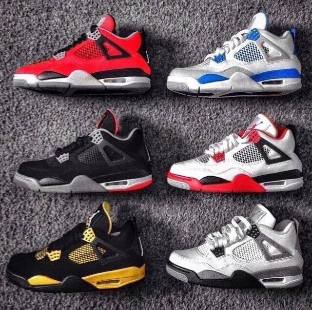 Jordan 4 Toro Bravo Jordan 4 Millitary Blue Jordan 4 Bred Jordan 4 Fire Red  Jordan