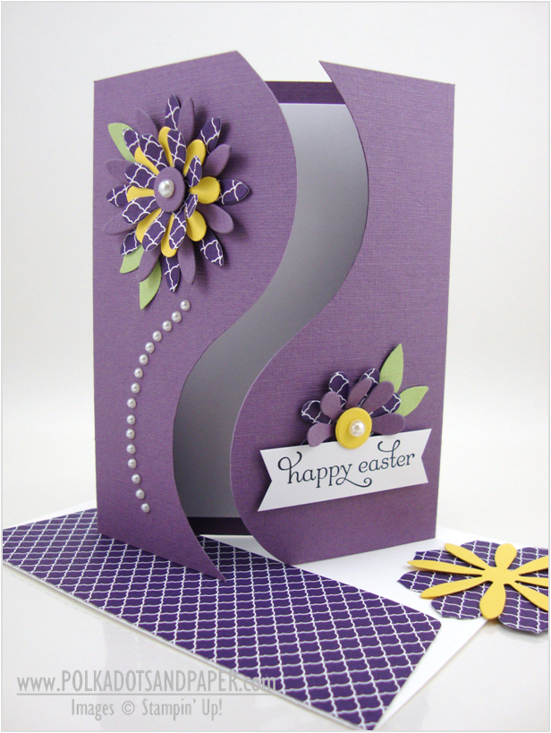 Curvey Gatefold Card by Linda Aarhus (041614) template