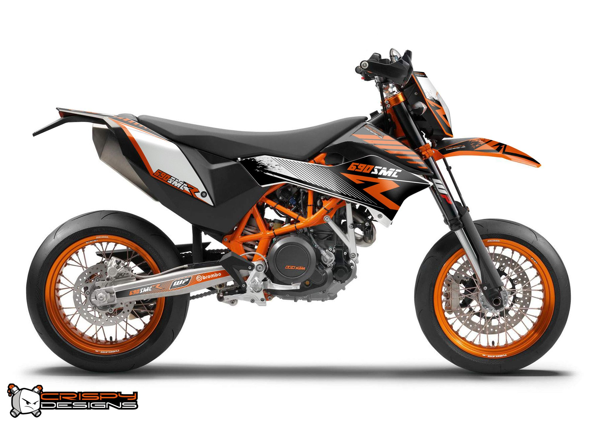 ktm 690 smc r 39 r line 39 decal kit custom race number ktm 690 wheels and ktm duke. Black Bedroom Furniture Sets. Home Design Ideas