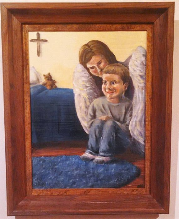 A Child's Awareness of Angels by Maria Lang BUY PRINTS ON ETSY!