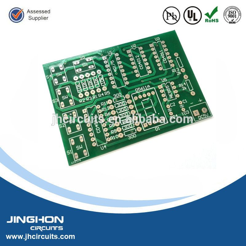 SMT rigid PCB printed circuit board supplier 14 layer motherboard