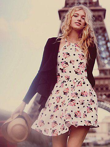 paris teen model glamour girl