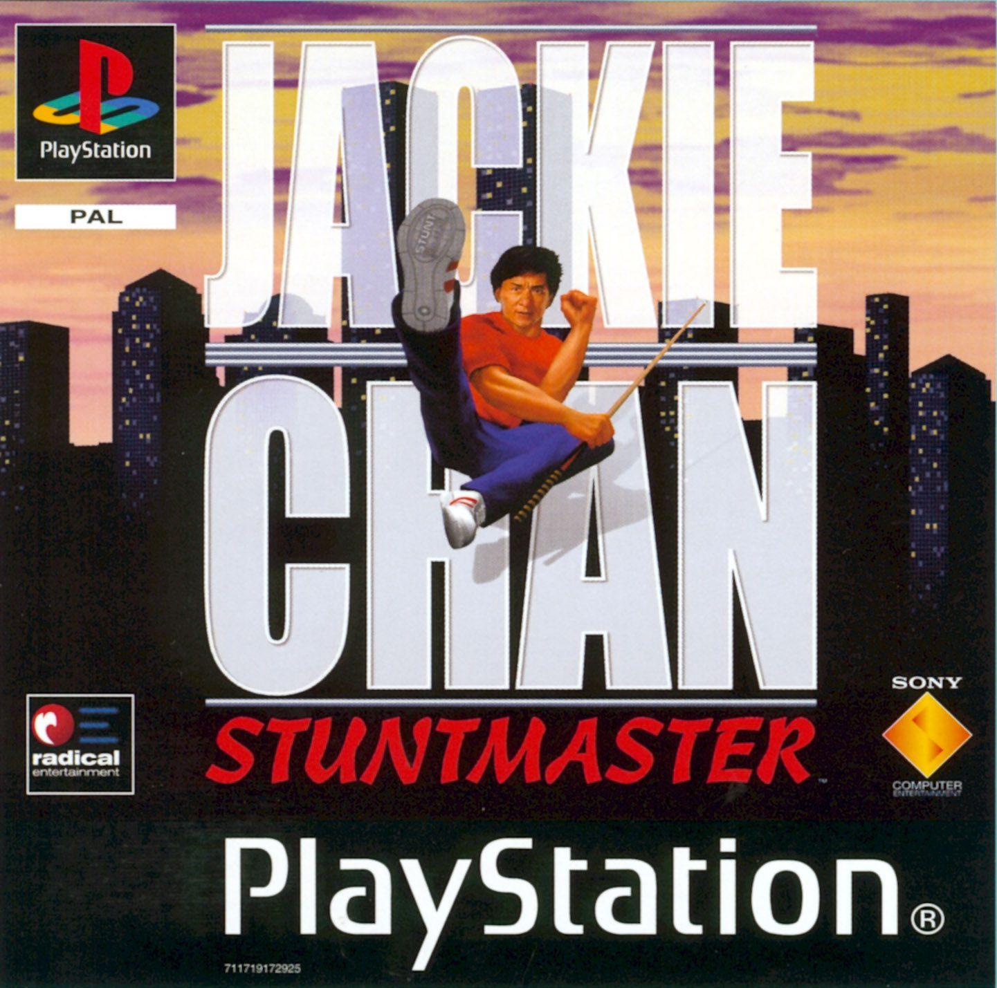 Jackie Chan Stuntmaster Psone Jackie Chan Jackie Chan Adventures Playstation