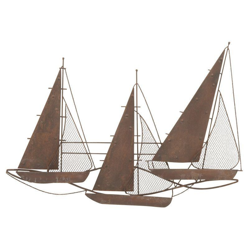 UMA Enterprises Sailing Boats Wall Sculpture - 48641 | Products ...