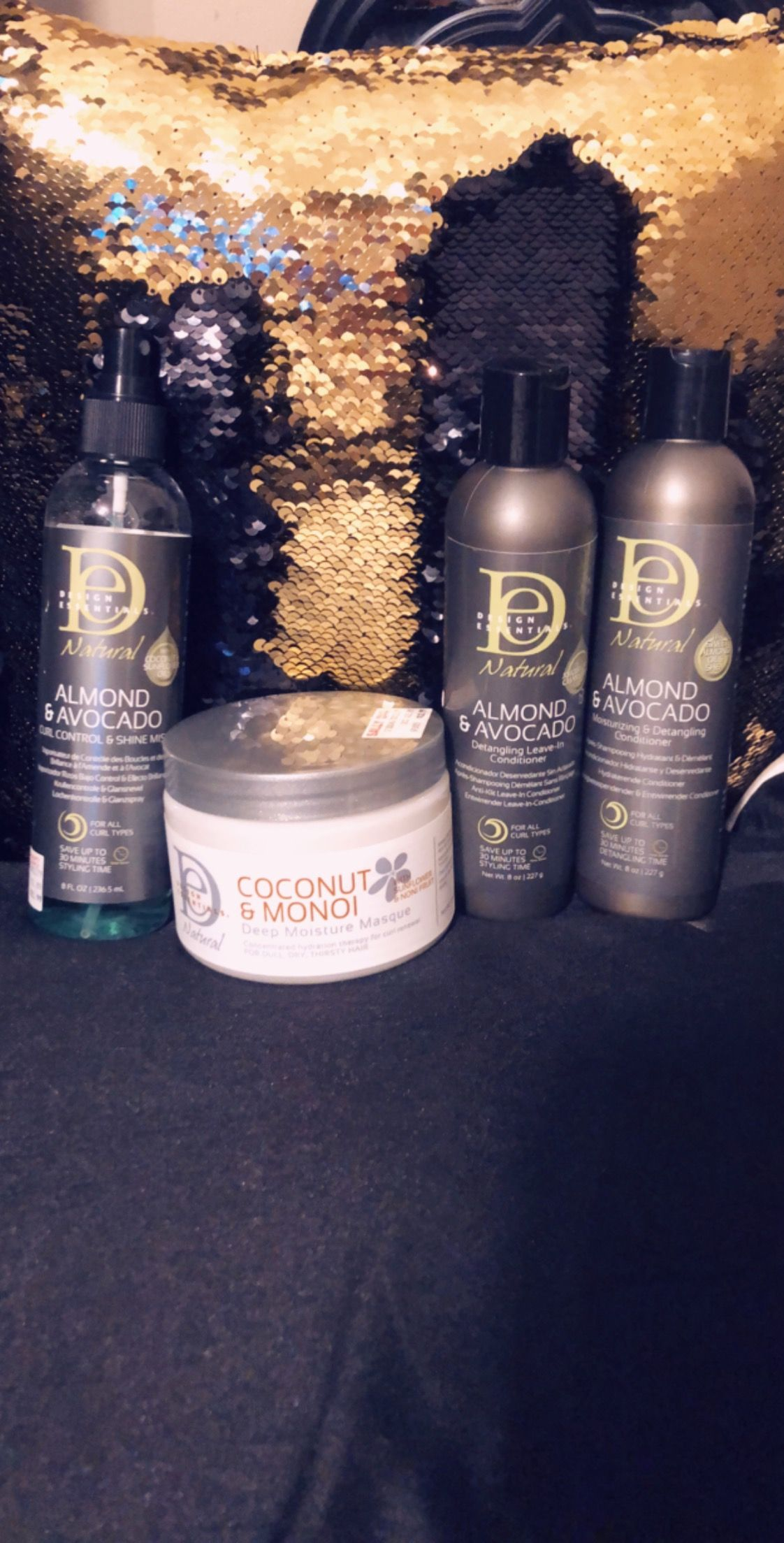 Design Essentials Almond And Avocado Conditioner Leave In And Curl